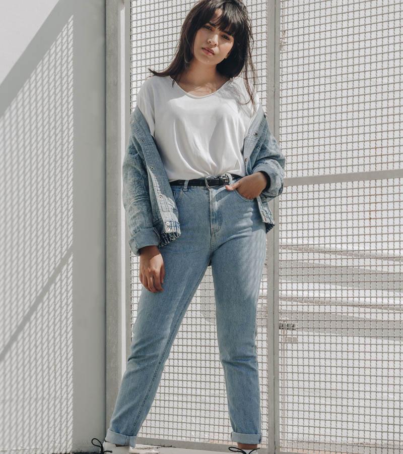 Moteriškos kelnės ir džinsai urmu drabužiai