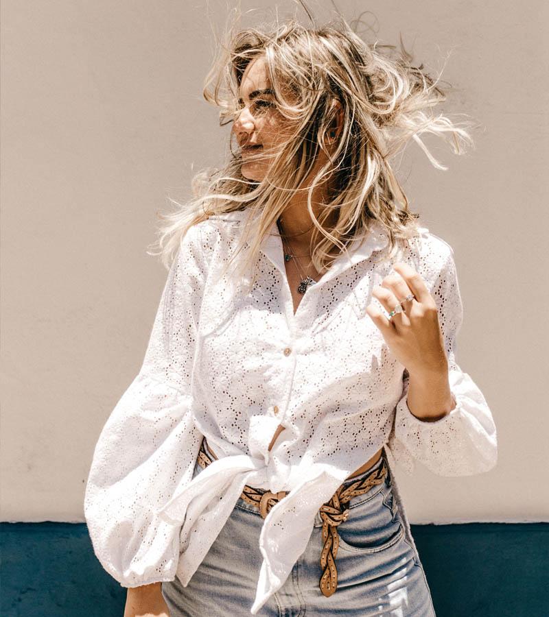 Женские Блузки Оптом одежда